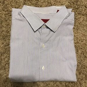 Alfani Fitted Long Sleeved Collar Shirt